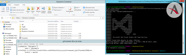 Obtención de un proyecto .NET desde repositorio e instalación de sus dependencias