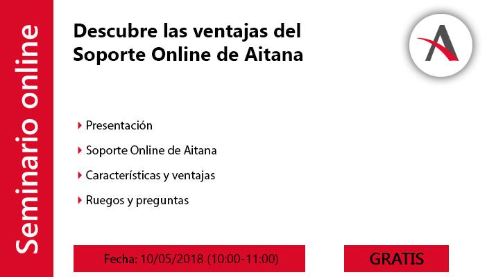 Descubre las ventajas del Soporte Online de Aitana