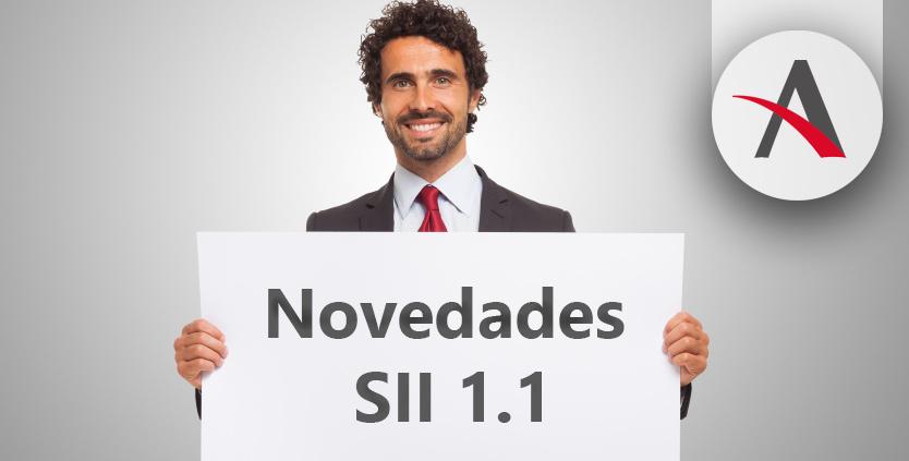 Novedades en el SII 1.1 que entrarán en vigor el 1 de julio de 2018