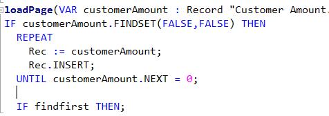 Cómo mostrar un log de errores en una page sin consumir las tablas del cliente