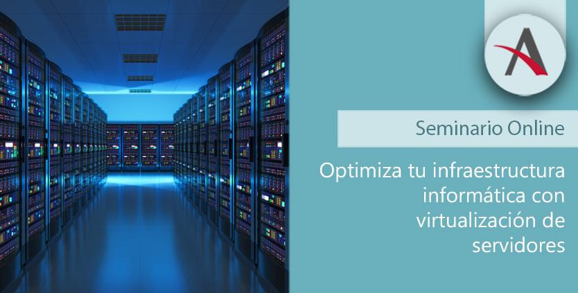 webinar virtualización de servidores