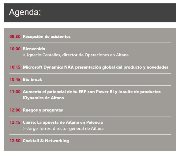 Te invitamos al evento presencial de Inauguración de la Oficina de Aitana en Palencia