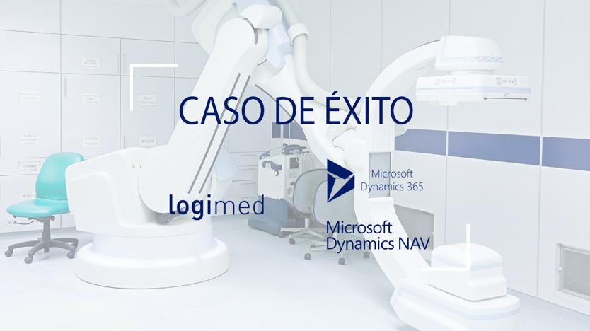 ¡Nuevo caso de Éxito! Logimed mejora su gestión gracias a Dynamics NAV y Dynamics 365 for Sales