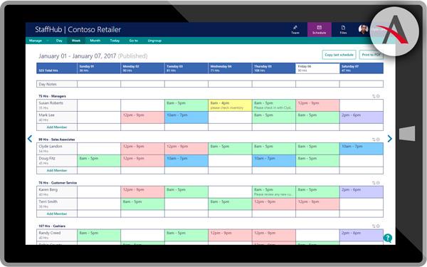 StaffHub, la herramienta de Microsoft para organizar tu empresa