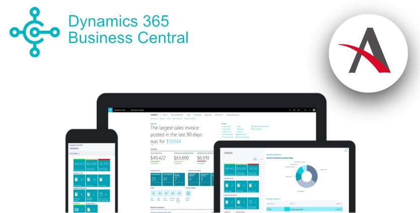 oferta de Dynamics 365 Business Central