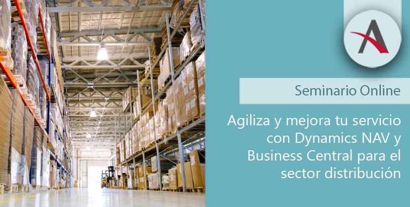Agiliza y mejora tu servicio con NAV y Business Central para el sector Distribución