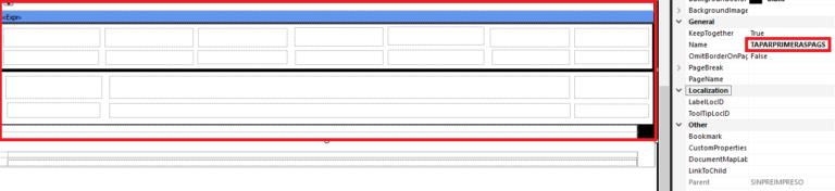 La importancia de los rectángulos en Microsoft RDLC