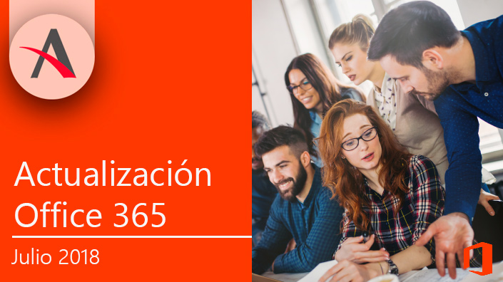Actualización julio Office 365 · Planner, Teams y Sway