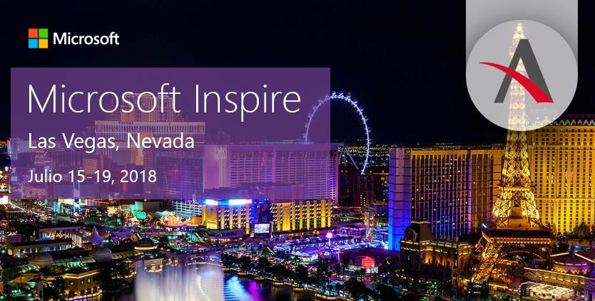 Microsoft Inspire 2018 · Aitana presente, un año más, en el mayor evento para socios