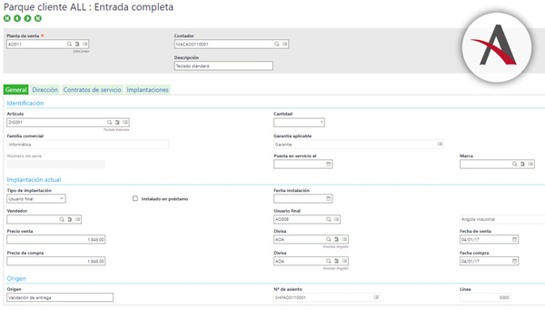 módulo CRM de Sage Enterprise Mangament (Sage X3)
