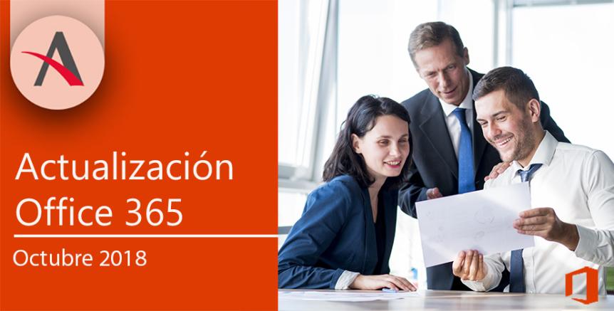 Actualizaciones octubre Office 365 por Aitana