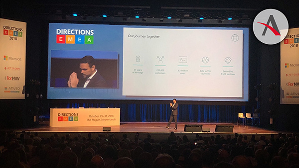 Directions EMEA 2018 · Principales novedades en Business Central