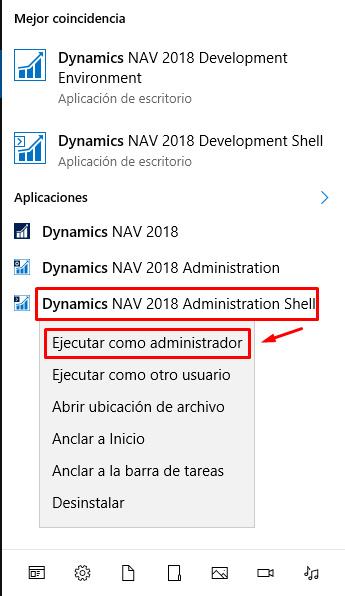 Cómo desinstalar una extensión en NAV 2018