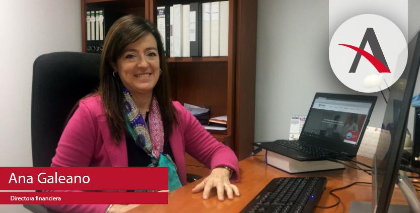 """Ana Galeano: """"En el departamento financiero somos los guardianes del """"orden"""" por excelencia"""""""