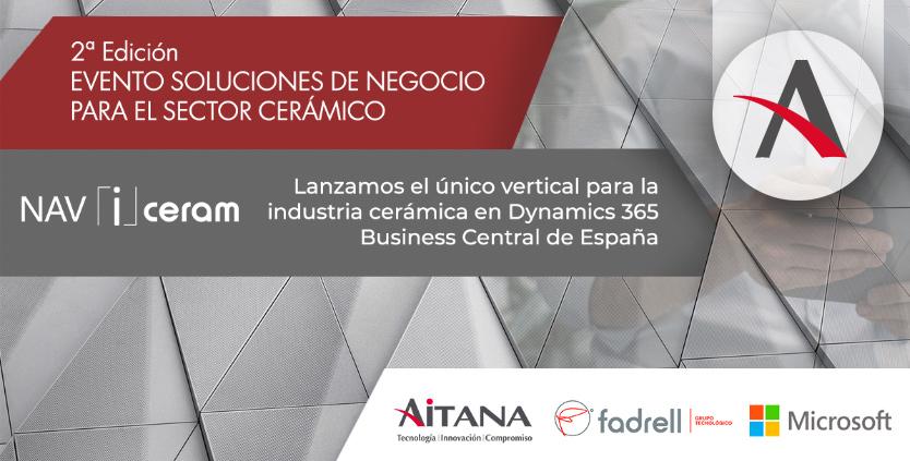 Presentamos en Ascer el único vertical para cerámicas basado en Business Central de España
