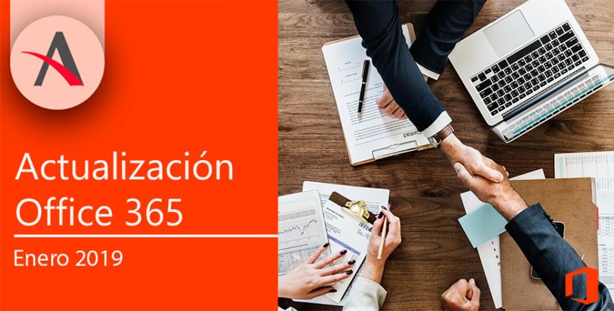 Actualización Office 365 Enero