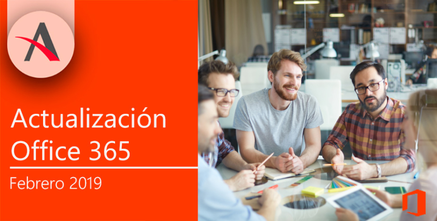 Actualización febrero Office 365 en Teams, Excel y To-Do
