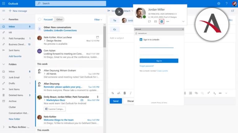 novedades en marzo para Office 365 y LinkedIn