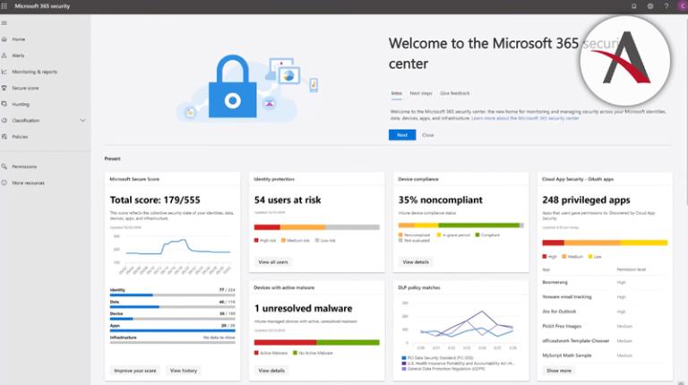 novedades en marzo para Office 365 y centro de seguridad de Microsoft 365