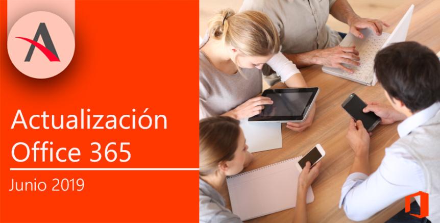 Actualizaciones en Office 365
