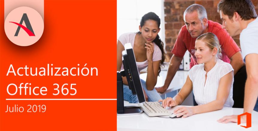 Novedades julio en Office 365 · Seguridad y productividad con Teams