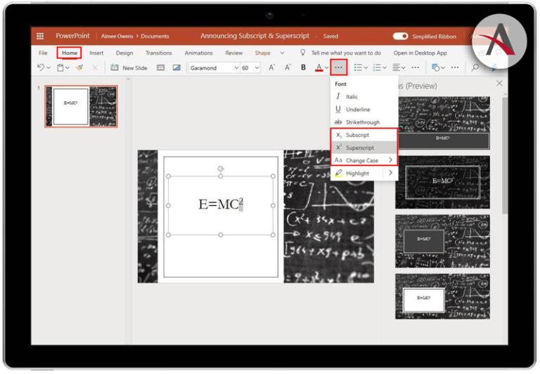 Novedades en Office 365 · Mejoras en Excel, PowerPoint y OneNote