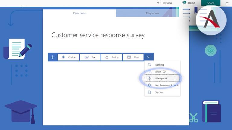 Nueva pregunta en Microsoft Forms · Novedades noviembre