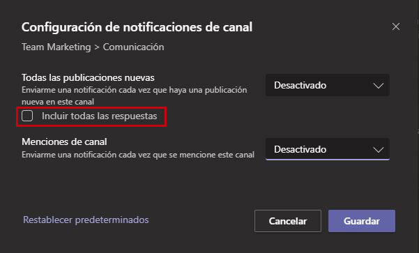 Tips Microsoft-Teams-Notificaciones-del-canal