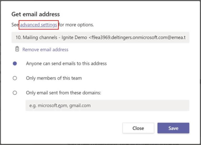 Tips Microsoft-Teams-canales-de-correo