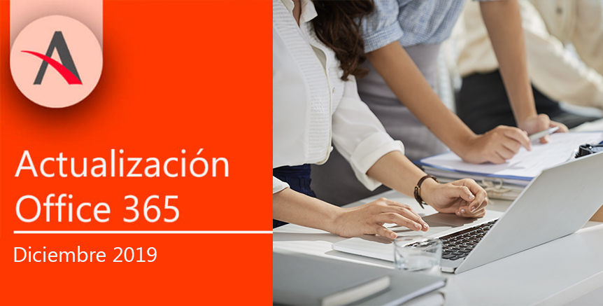 Novedades de Office 365 Diciembre