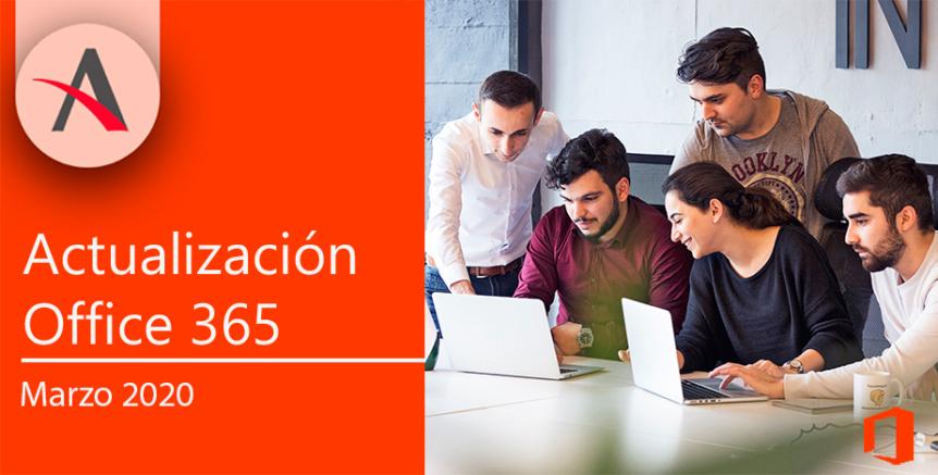 · Novedades Office 365 marzo