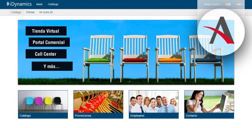 iDynamics-Commerce-portal-ecommerce-B2B-para-empresa-de-distribución