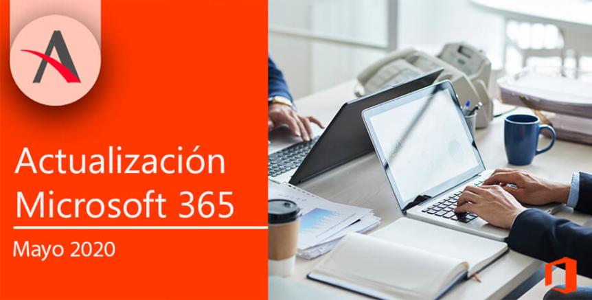 Novedades Microsoft 365 mayo 2020