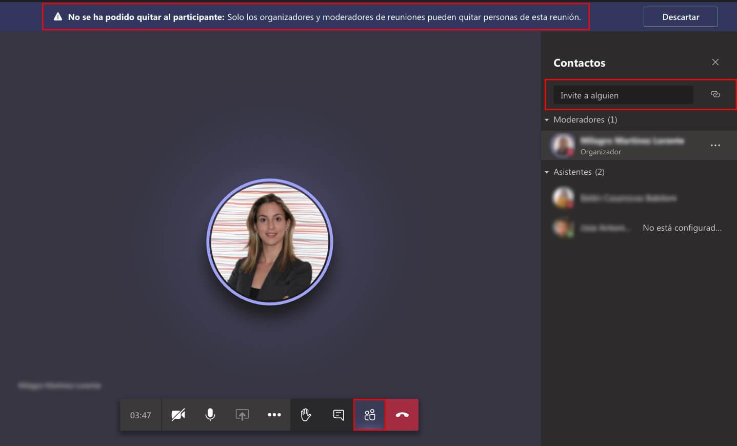 Cómo añadir a invitados en una reunión de Microsoft Teams
