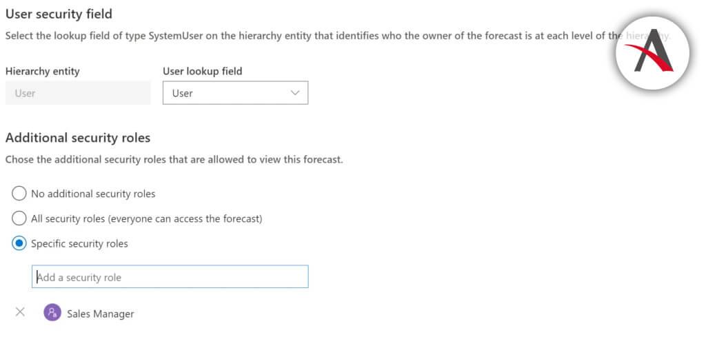 Configurar quién puede ver la predicción en Dynamics 365 for Sales (CRM)