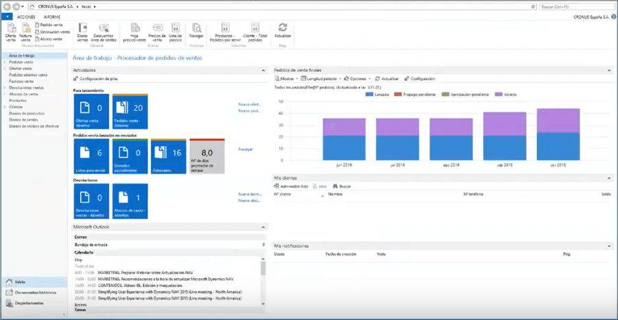 Microsoft Dynamics NAV 2013 · Evolución de Navision a Business Central