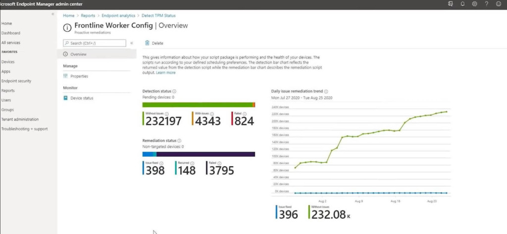 Microsoft Endpoint Manager - Endpoint Analytics 1