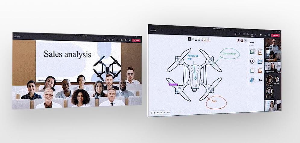 salas virtuales en Microsoft Teams