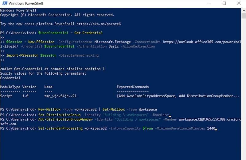Novedades Microsoft 365 octubre Configuracion espacio de trabajo
