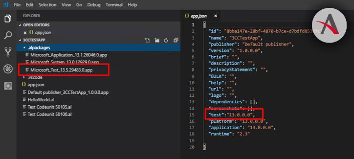 Visual-Studio-app-json