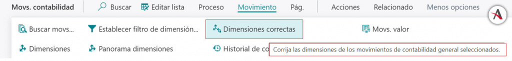 dimensiones-correctas-business-central